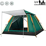 LYXCM Cabin Tent, Camping 4 Sided Tent Shade and Rainproof Mountaineering Camping Tent