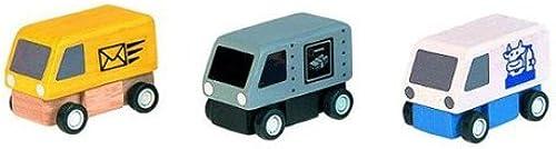 Plan Toys Delivery Vans (1 Set @ 3 Pcs) by PlanToys