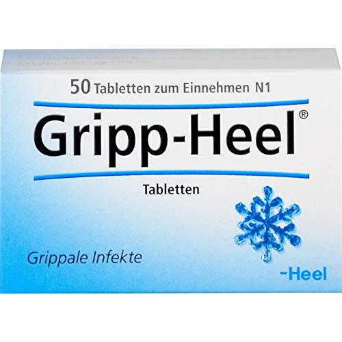 Gripp-Heel Tabletten bei grippalen Infekten, 50 St. Tabletten