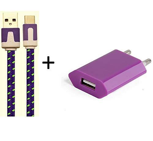 le eco le max 2 smartphone Shot Case Adattatore di Alimentazione USB per l' Eco Il Max 2Smartphone/Tablet Blu