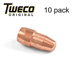 "Tweco VTS35 Velocity Light Duty MIG Welding Contact Tip, 0.035"" Wire Size, Standard (Pack of 10) by Victor Technologies International"