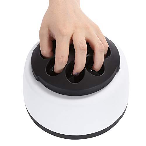 QIYE Elektrische Dampf Nagellack Heizung Remover Maschine, tragbare Gel Nagellackentferner Werkzeug,...