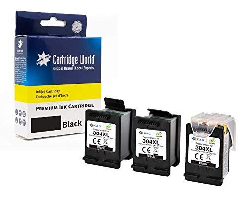 Cartridge World HP 304XL - Pack de ahorro (3 depósitos de tinta)