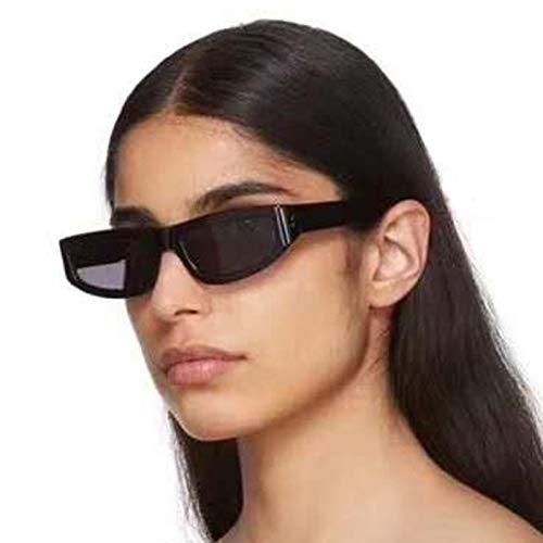 Gafas de Sol Gafas De Sol Pequeñas Y Finas con Montura Cuadrada, para Mujer, para Hombre, Rosa, Bronceado, Lentes De Leopardo, Gafas De Sol Sexis para
