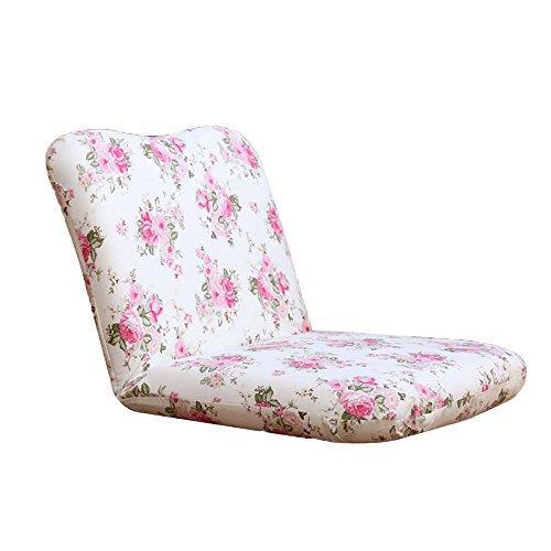Sofá Lazy Sofa Single Floor Chair Bed Sillón Sala de Estar Balcony Sofa Chair 85 * 45cm