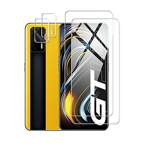 Protector de Pantalla para realme GT 5G Cristal Templado Protector de lente...