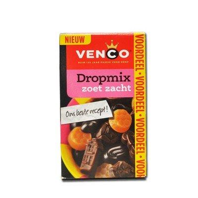 3 X Venco Dropmix Zoet Zacht - Weich & Süß - 490g