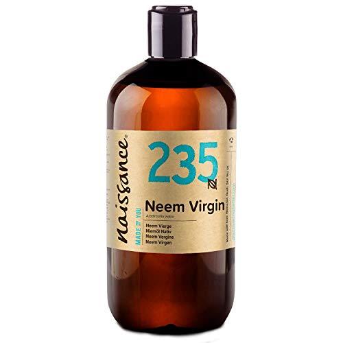 Naissance Neem Virgen - Aceite Vegetal Prensado en Frío 100% Puro - 500ml