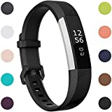 Maledan Compatible with Fitbit Alta Bands, Replacement Band for Fitbit Alta HR/Alta/Ace, Small, Black