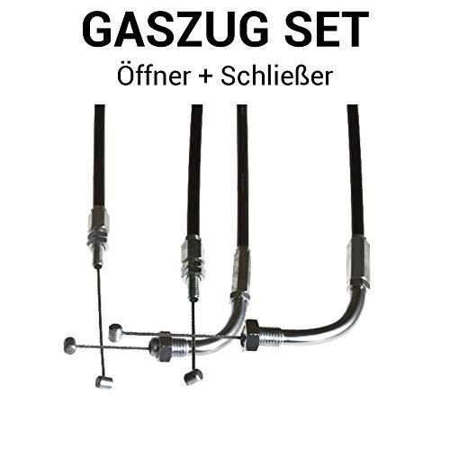 Gaszug Set Öffner + Schließer für Kawasaki Z900A | Z1 900 | Z1A 900 | Z1B 900