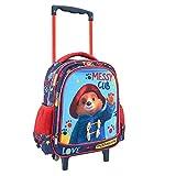 Zaino trolley 3D Paddington 27 x 10 x 31 cm 504018 L'orsetto inglese per bambini, apparso per la prima volta il 13 ottobre 1958[