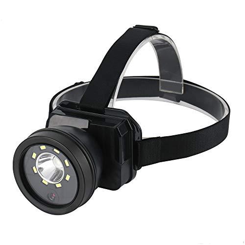 yywl LED stirnlampe LED Scheinwerfer Taschenlampe Kamera Objektiv Videorecorder Wiederaufladbare wasserdichte Camping Stirnlampe