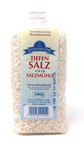 Saline Luisenhall Tiefensalz für die Salzmühle