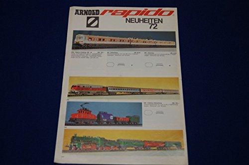 Unbekannt Arnold Rapido Neuheiten 72 Modelleisenbahnen Zubehör Eisenbahn Bahn