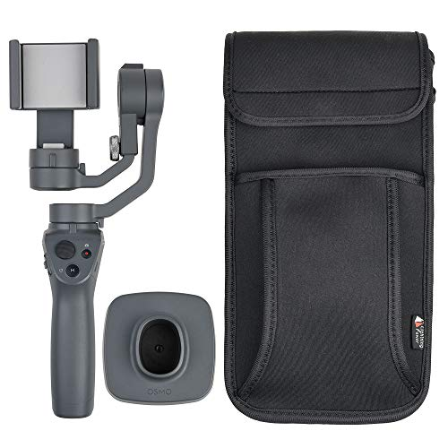 Universal Smartphone Handheld Stabilizer Gimbal Shoulder Carrying Case Compatible with DJI Osmo Mobile 2 Gopro Karma Grip Zhiyun Smooth 4