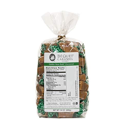 Béquet Caramel Celtic Sea Salt 24oz Gift Bag