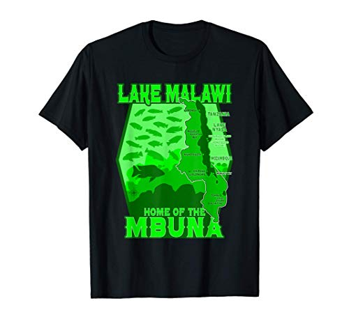 Malawi See Mbuna Buntbarsch Aquarium Aquarianer Geschenk T-Shirt