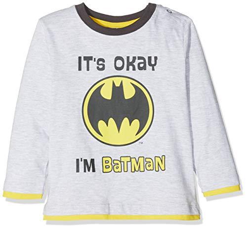 Batman 2544 T-Shirt, Gris (Gris Gris), 18-24 (Taille Fabricant:24 Mois) Bébé garçon