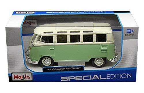 Maisto Volkswagen Van Samba Diecast Vehicle