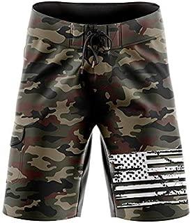 American Flag Board Shorts