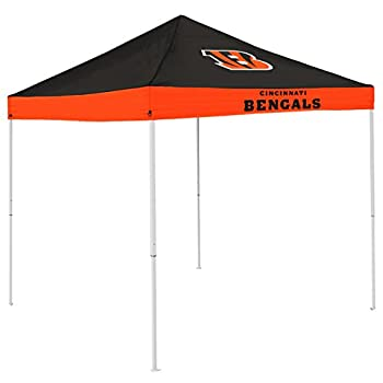 Logo Brands Officially Licensed NFL Cincinnati Bengals Unisex Economy Canopy One Size Team Color