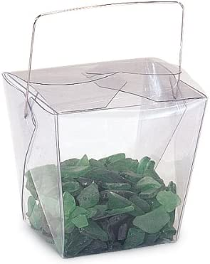 Pack of Portland Mall 12 Clear Translucent Pet Take fo 4