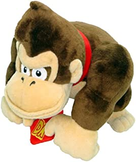Nintendo Official Super Mario Donkey Kong Plush, 9""
