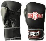 Ringside Synthetic Bag Gloves, Regular, Black