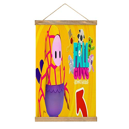 Fa-ll Gu-ys merch Hangers Hanging Kit for Walls Map Decorative Office Home with Hanger Scroll Frame