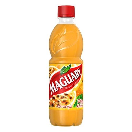 Maguary Passion Fruit Juice Concentrate - 16.9 FL.Oz - Suco Concentrado de Maracujá Maguary - 500ml,pack of 4