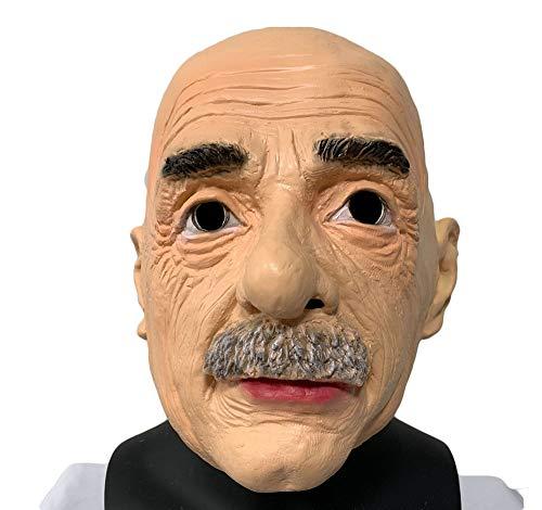 HARLT Realistische Glatze Latex Maske Walter White Menschlichen Männlichen Kopf Maske Kostüm Kostüme Cosplay