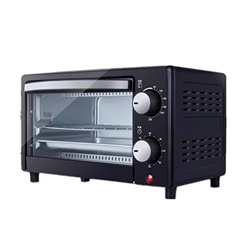 Kylewo 12L mini oven with crumb tray | Mini Pizza Oven | Double glass door | Timer | Oven | Mini oven | pizza oven
