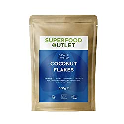 Our coconut flakes are gently roasted to give them a warm, caramel colour and full flavour. Organic, Vegan and Gluten free Coconut flakes are perfect to use in trail mixes, sprinkle on porridge or granola, and can even be used in cake mixes. coconut ...