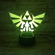 Lighting Decoration in Home The Legend of Zelda LED Night Light with   Decorative Lamp for Children Kids Gift Night Light ...