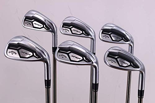 Review Callaway Apex CF16 Iron Set 6-PW SW UST Mamiya Recoil ES 460 Graphite Regular Right Handed 37...