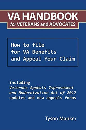 VA Handbook for Veterans and Advocates How to file for VA Benefits and Appeal Your Claim product image