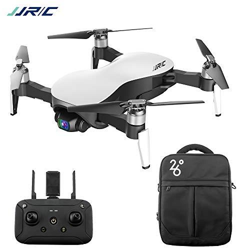 Festnight Drone Senza spazzole JJRC X12 RC con Telecamera a 3 Assi stabilizzata con Giunto cardanico 12MP 4K Foto Quadcopter Velivoli Indoor Outdoor per Adulti