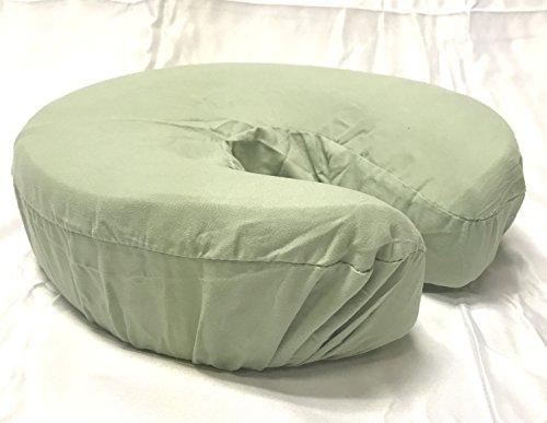 Therapist's Choice Premium Deluxe Microfiber Massage Table Face Cradle Covers, 4pcs per package (Sage)