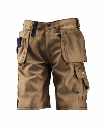 Bosch Professional Shorts WHSO, Beige, W30 (Herstellergröße: C46)