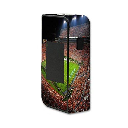 Sigelei T150 Touchscreen Vape E-Cig Mod Box Vinyl DECAL STICKER Skin Wrap / College Football Stadiums