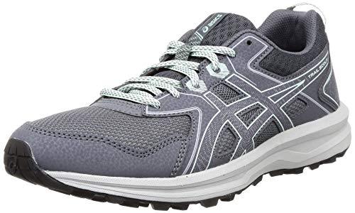 ASICS Women Carrier Grey/Mint Tint Running Shoes-3 UK (35.5 EU) (5 US) (1012A566)