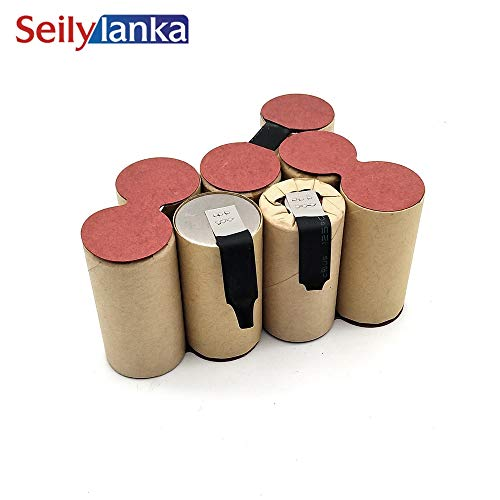 Seilylanka 3000mAh per Black Decker 9.6V Ni MH Batteria pacchetto CD aspirapolvere Dustbuster DV9605 per auto-installazione