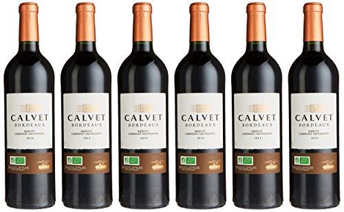 Calvet Reserve Bio Ecocert AOP Bordeaux Merlot Halbtrocken (6 x 0.75 l)