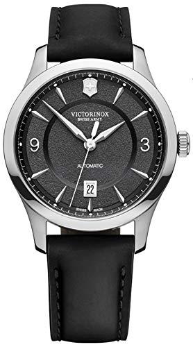 Victorinox Alliance Reloj para Hombre Analógico de Automático con Brazalete de Piel de Vaca V241869