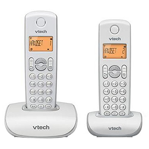 Phone Teléfono de casa inalámbrico con contestador automático, Paquete de Auricular Individual o Doble, Llamada Avanzada de Botón Grande, teléfono fijos Fiyxd fijos de Office Business