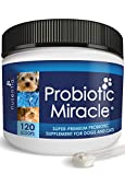 NUSENTIA Probiotics for Cats & Dogs - (120 Scoops) Probiotic Miracle - Advanced Formula to Stop Diarrhea, Loose Stool, and Yeast.