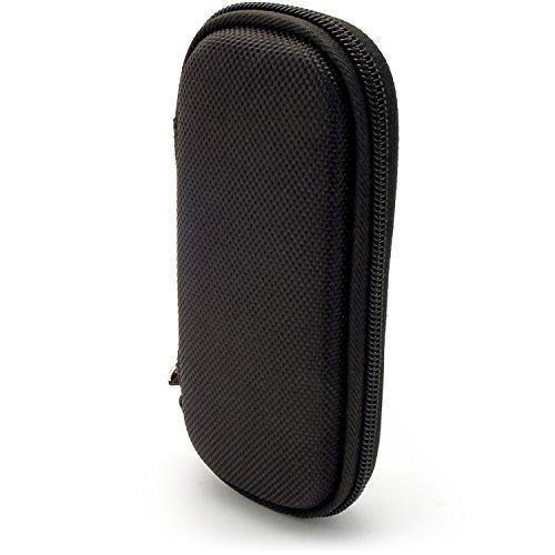 iGadgitz U6688 EVA-Schutzhülle Tasche Case Kompatibel mit Olympus Digital Voice Recordern - Schwarz