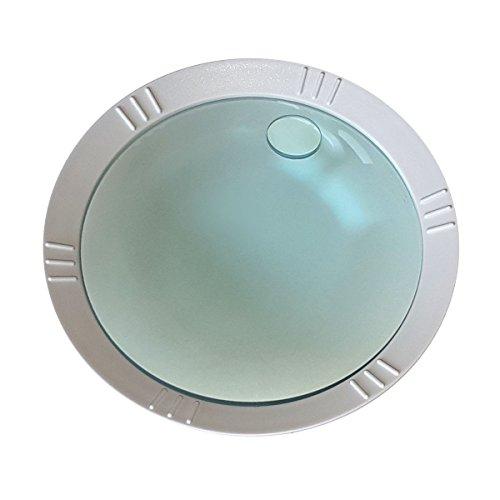 Komerci Wechsellinse für Lupenleuchte Lupenlampe KML-9006 mit 150mm 3+20-Dioptrien