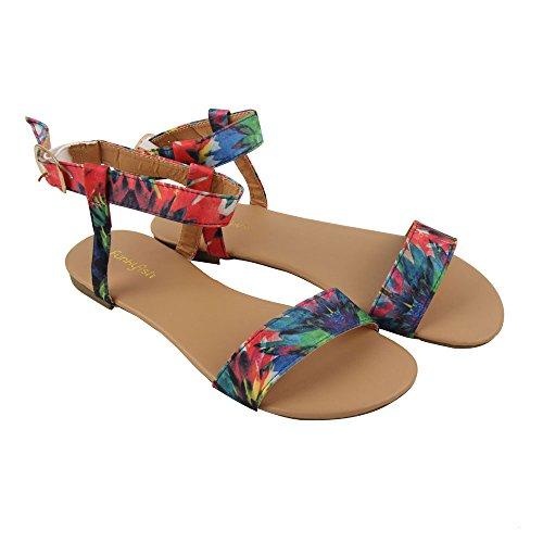 FunkyFish SANDALIA Batikdesign Funko Pop Größe 37