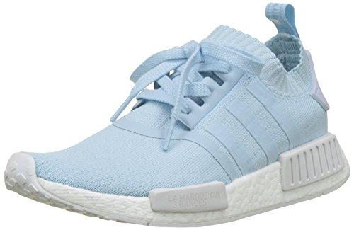 adidas Damen NMD_R1 Primeknit Sneaker, Blau (Ice Blue/Ice Blue/Footwear White), 36 2/3 EU